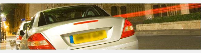 Registration plate image